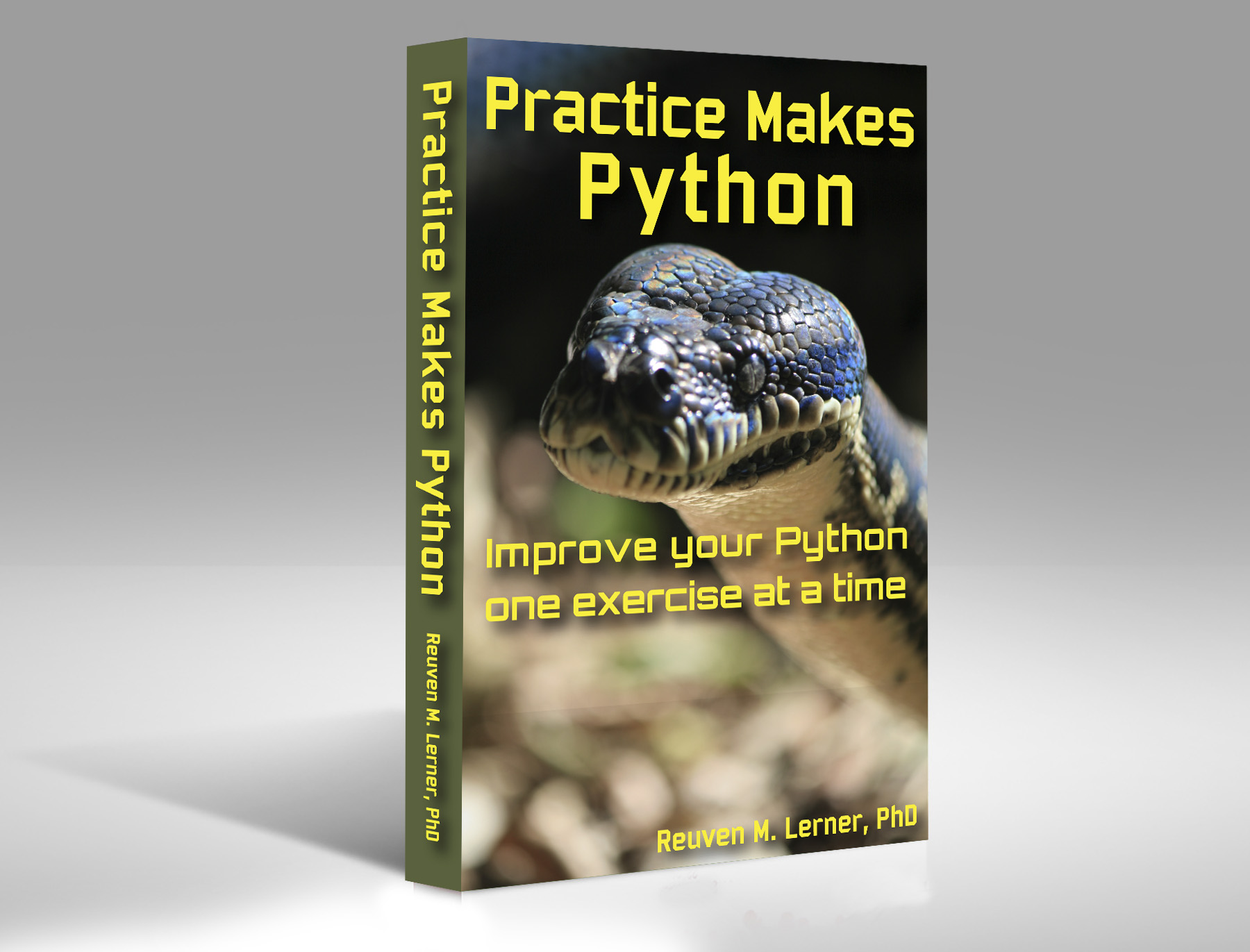 ebook: Practice Makes Python