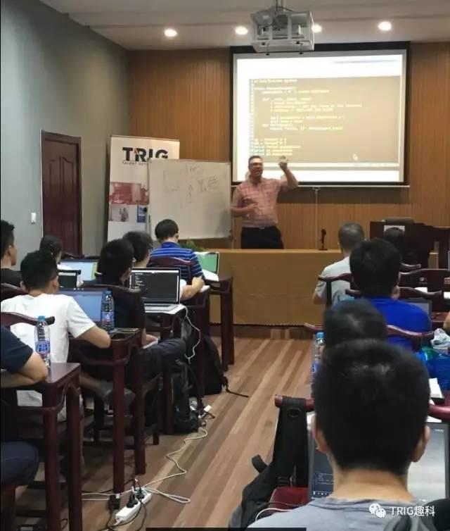 Reuven teaching in China
