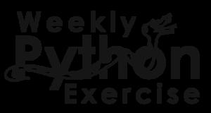 Weekly Python Exercise logo
