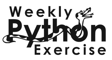 Registration for Weekly Python Exercise closes today